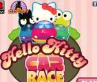 הלו קיטי מרוץ מכוניות - Bugs.co.il
