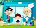 Mr Bean Trouble in Hair Salon - Bugs.co.il
