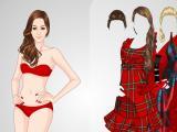 משחק הלבשה: יפה באדום - Bugs.co.il