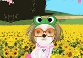 משחק הלבשה: כלבלב בשדה - Bugs.co.il