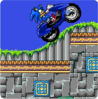 סוניק על האופנוע - Bugs.co.il